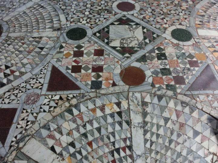 Santa Maria and Donato, Murano, detail of the floor