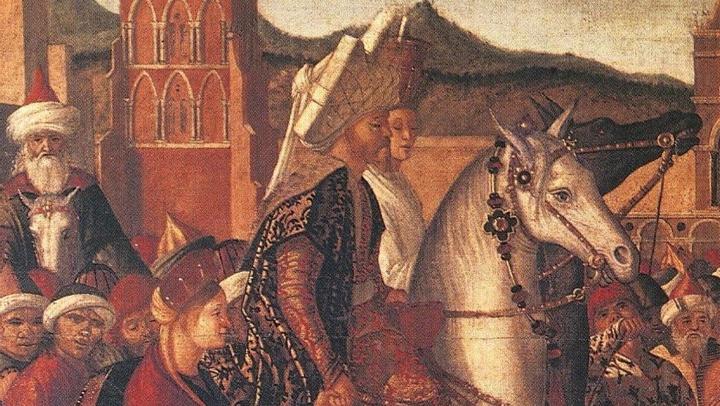 Venise à cheval