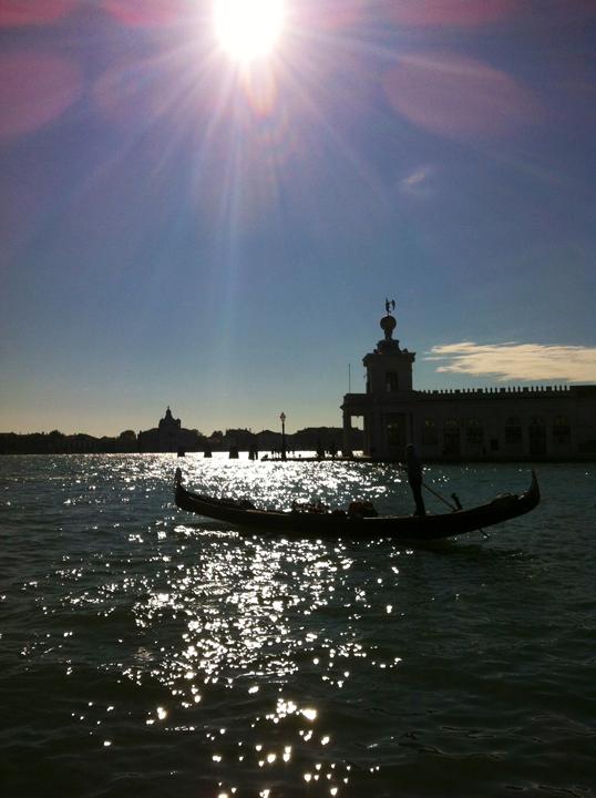 Il bacino di San Marco alla Punta della Dogana