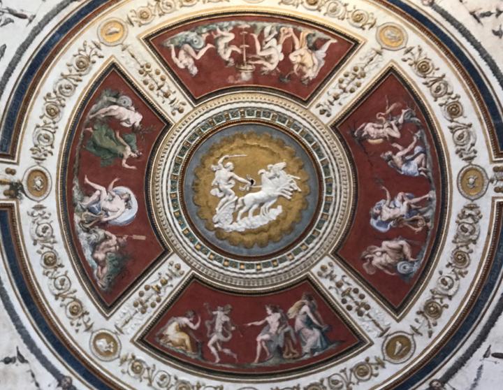 Francesco Salviati e Giovanni da Udine, Le storie di Marsia, Palazzo Grimani, Venezia