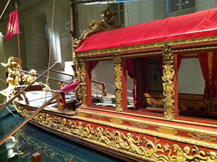 La festa della Sensa, barche cerimoniali