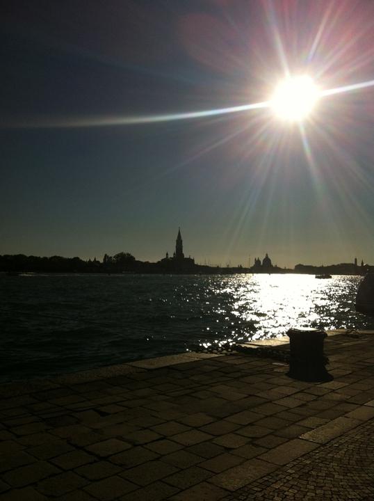 Il bacino di San Marco dalla Riva dei Sette Martiri