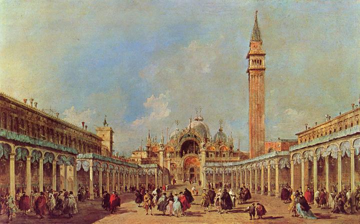Francesco Guardi, La fiera della sensa in piazza San Marco