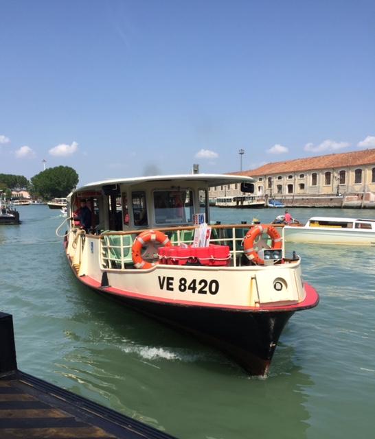 Waterbus vaporetto in Venice