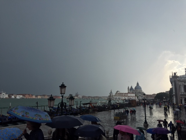 Storm in Venice