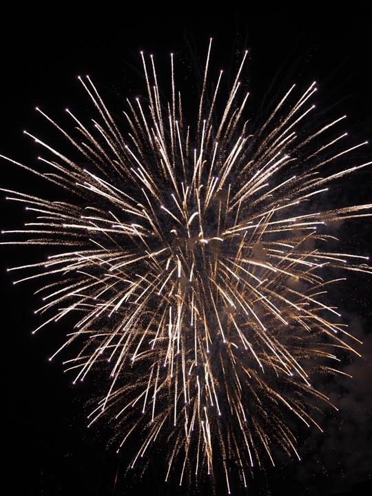 I fuochi d'artificio della festa del Redentore, Venezia