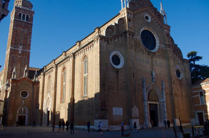 Chiesa dei Frari, esterno