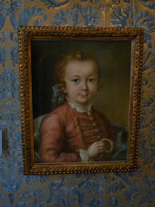 Ritratto di bambina di Carlevarijs a Ca' Rezzonico, Museo del Settecento veneziano, Venezia