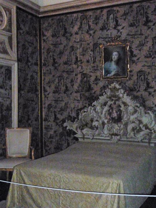 Venezia, Ca' Rezzonico, Camera da letto