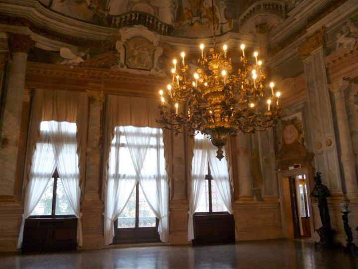 Sala da Ballo a Ca' Rezzonico, Museo del Settecento veneziano, Venezia