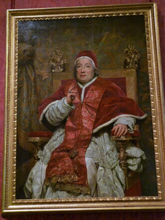 Ritratto di Clemente XIII a Ca' Rezzonico, Museo del Settecento veneziano, Venezia