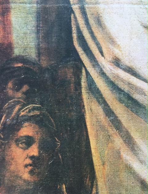 Venise, Scuola Grande San Rocco, Tintoret, Jésus devant Pilate, détail