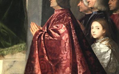 La pala Pesaro di Tiziano