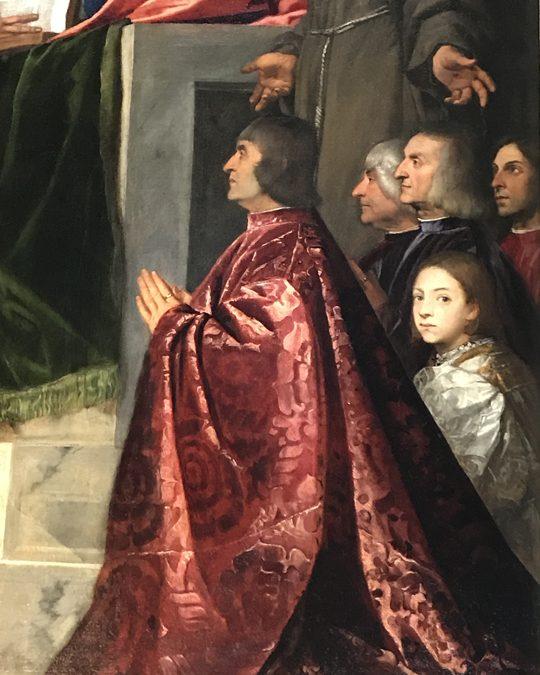 Titian's Pesaro Madonna