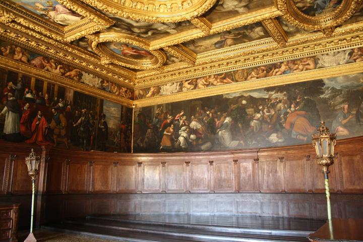 Venezia, Palazzo Ducale, Sala del Consiglio dei Dieci