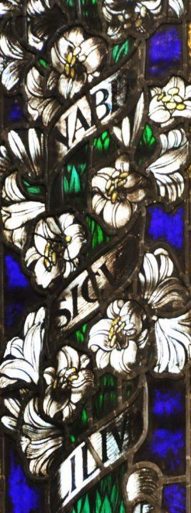 decoration with lilium