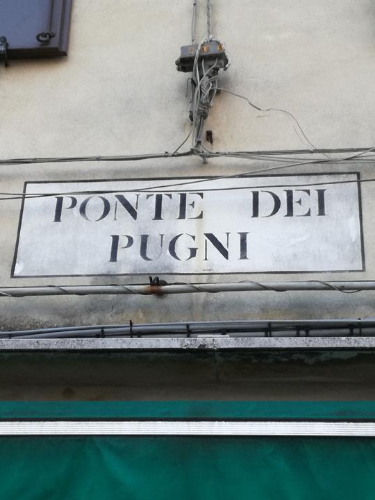 Venezia, Ninzioeto Ponte dei Pugni