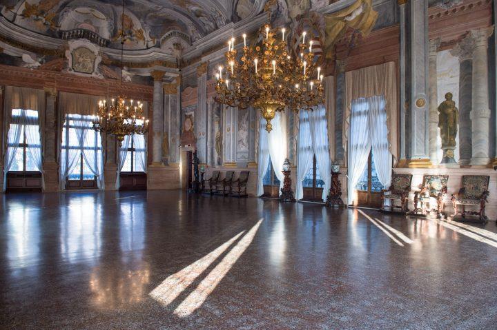 Ballroom of Ca' Rezzonico, Venice