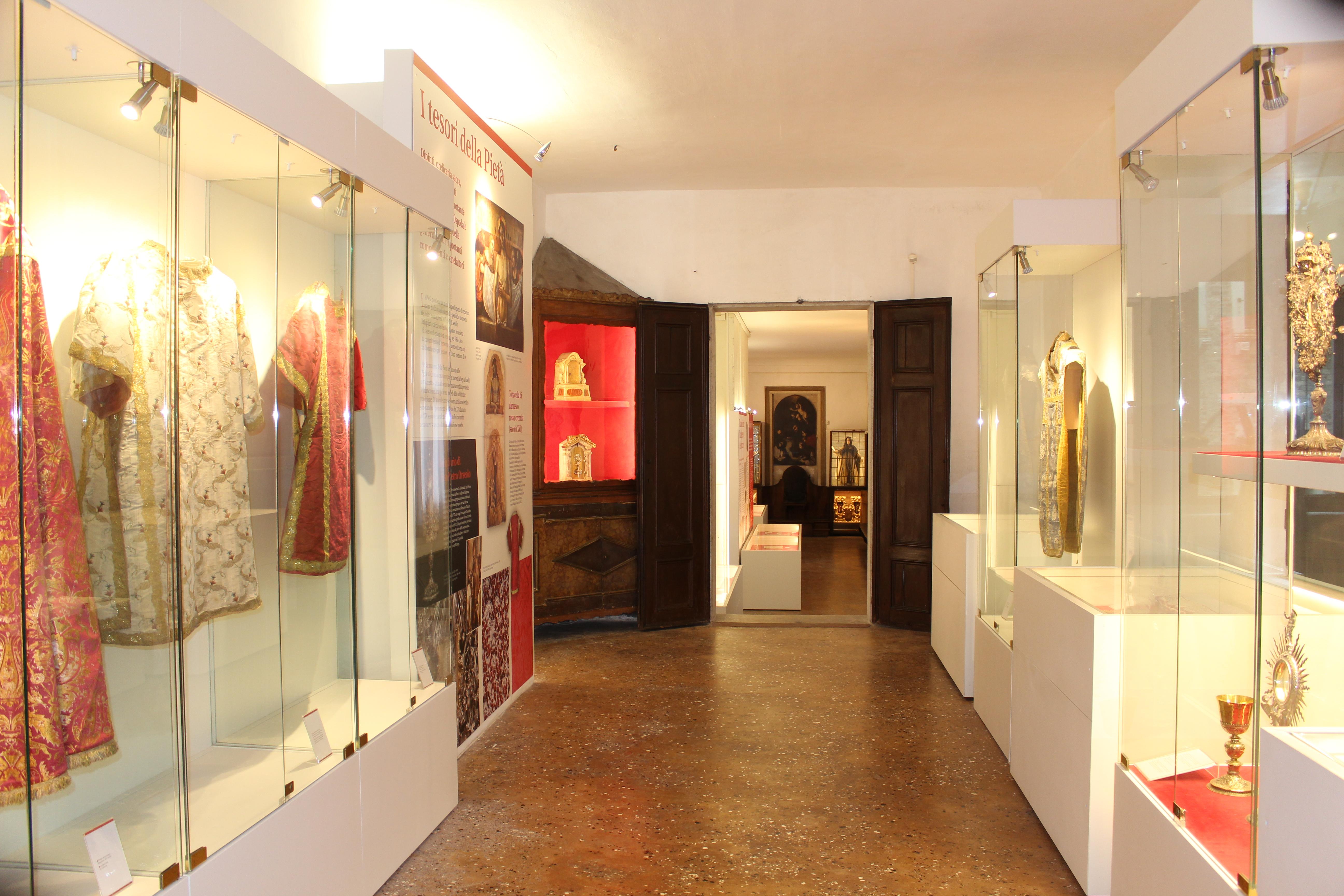 Vue générale des premières salles du musée