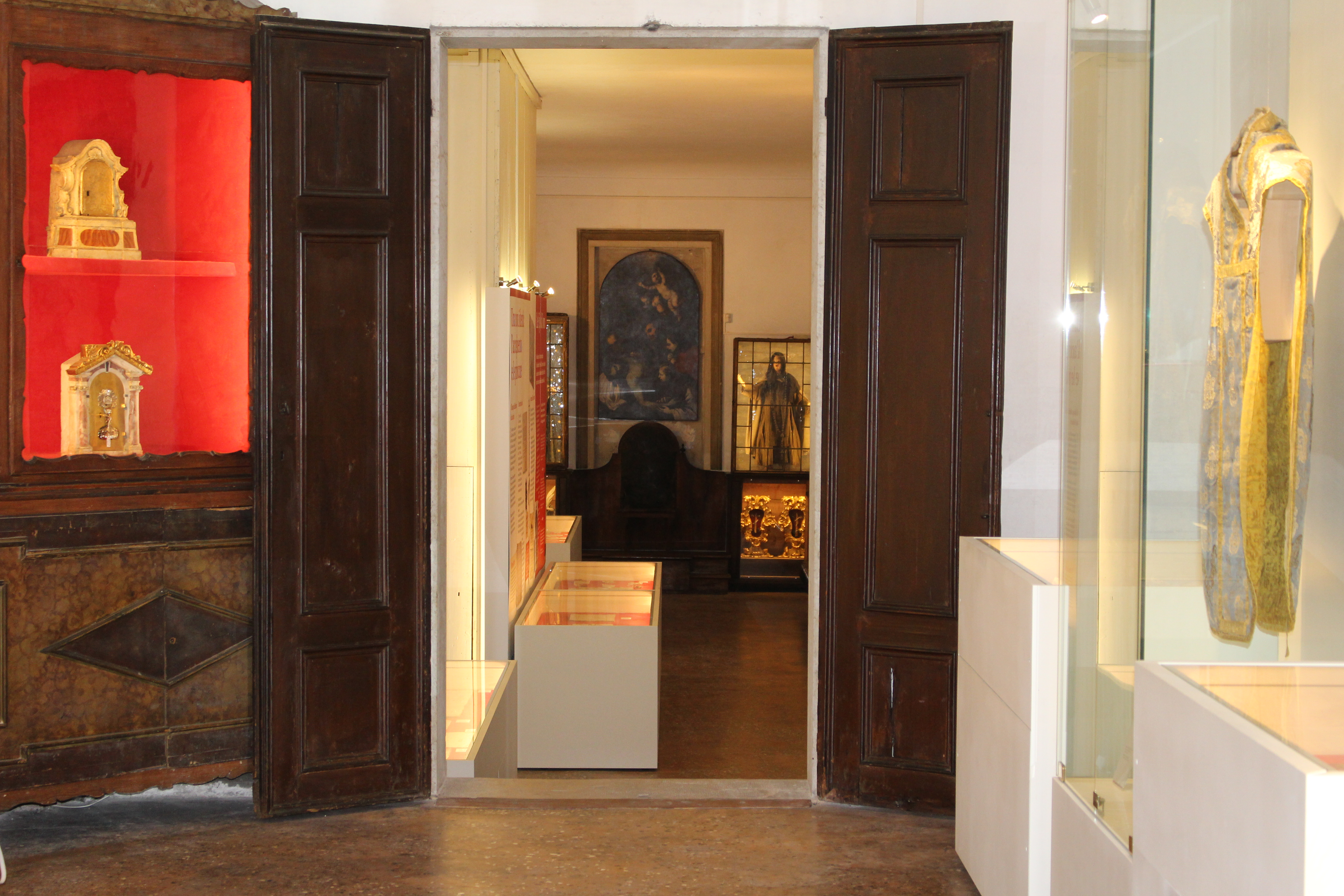 Vue en gros plan du musée