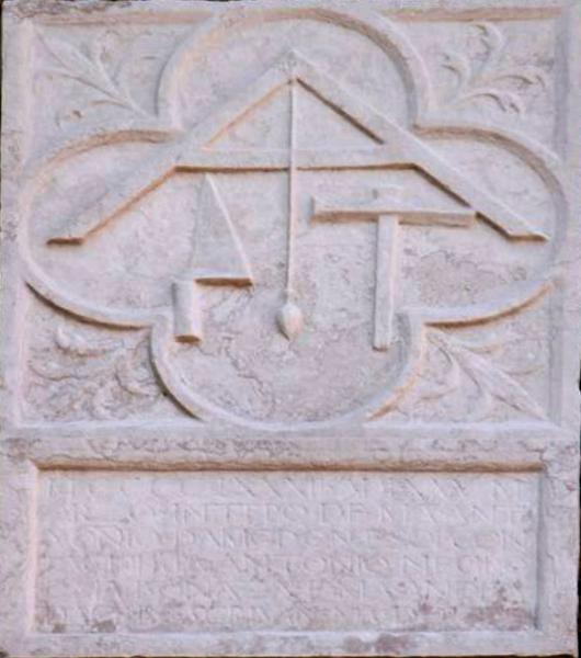 Scuola dei mureri, bassorilievo, Venezia