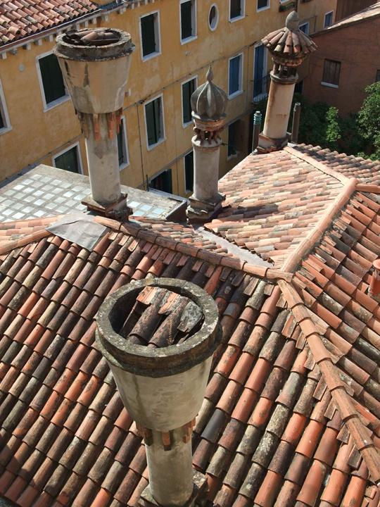 I camini veneziani e le loro diverse forme