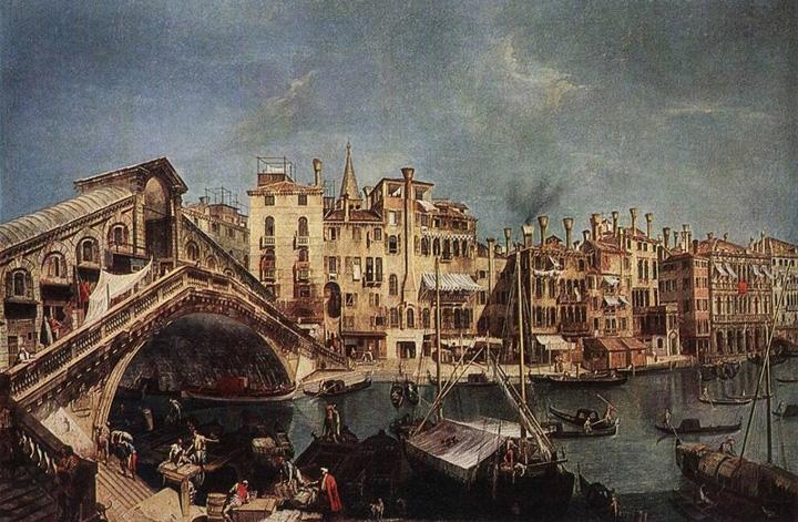 Michele Marieschi, Ponte di Rialto