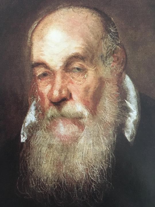 Ritratto di Antonio da Ponte, Scuola italiana, Parigi, Museo del Louvre