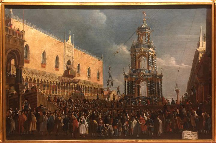 Gabriel Bella, Carnival Thursday Fair in the Piazzetta, Querini Stampalia Museum, Venice