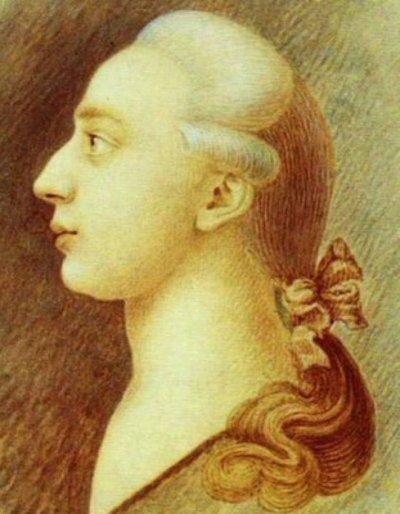 Ritratto di Giacomo Casanova fatto dal fratello Francesco
