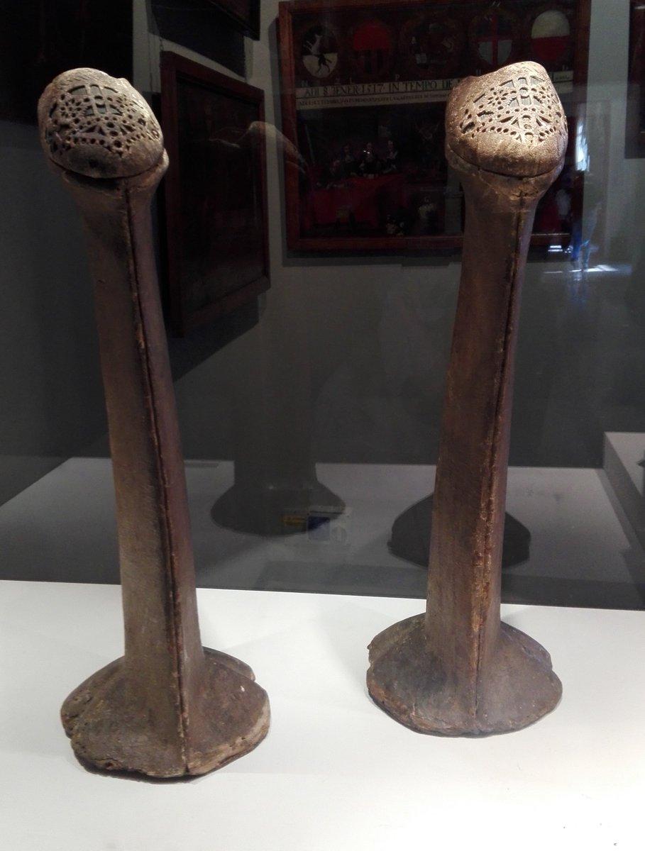pair de calcagnetti au Musée Correr - Venise