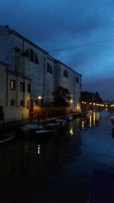 Venise, Eglise de San Girolamo la nuit