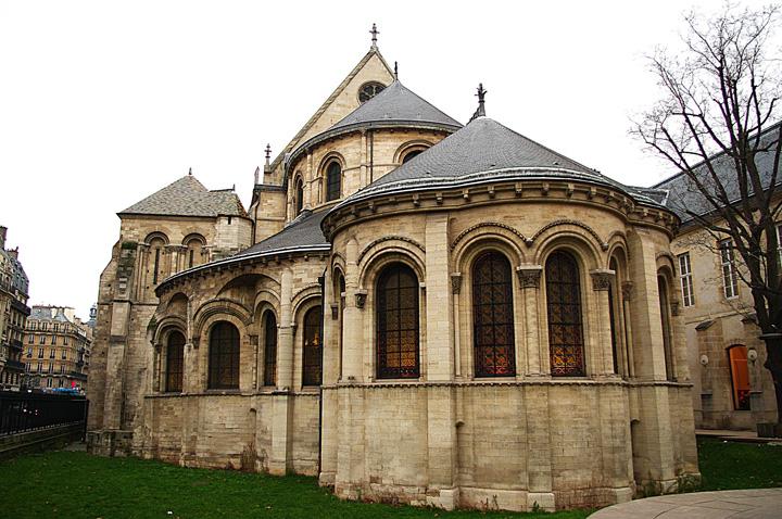 Parigi, Veduta delle absidi di St Martin Des Champs