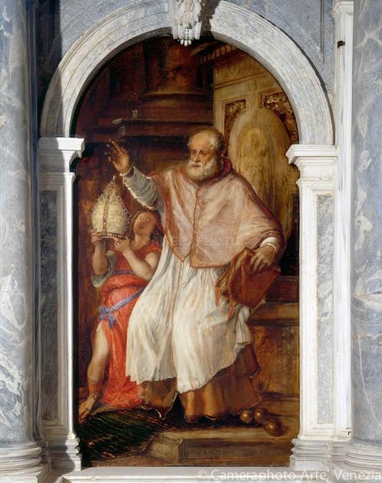 Тициан, Святой Николай, храм святого Себастиана, 1563