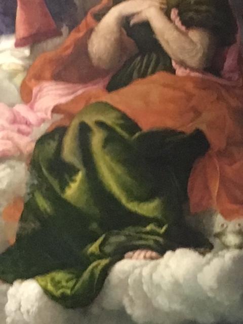Деталь картины о святом Николае.