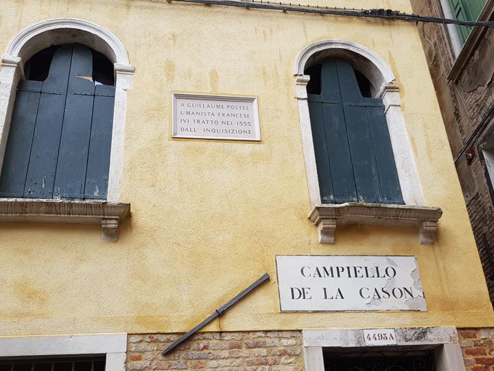 Venezia, Campiello de la Cason