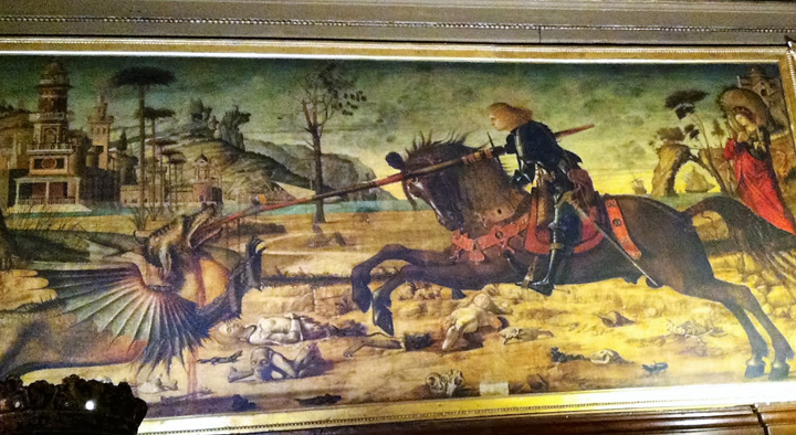 """St. George and the Dragon"" by Vittore Carpaccio"