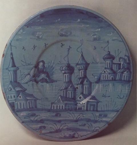 Porcellana veneziana, sottopiatto