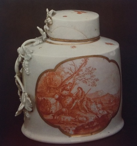 Porcellana veneziana, Scena pastorale