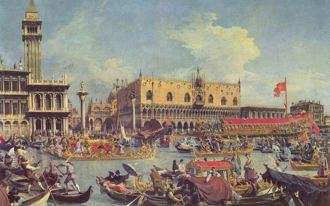 Canaletto, Return of the Bucintoro to the Molo on Ascension Day, 1730