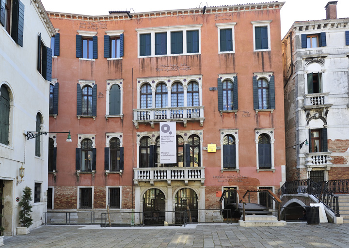 Facciata Palazzo Querini Stampalia a Santa Maria Formosa a Venezia