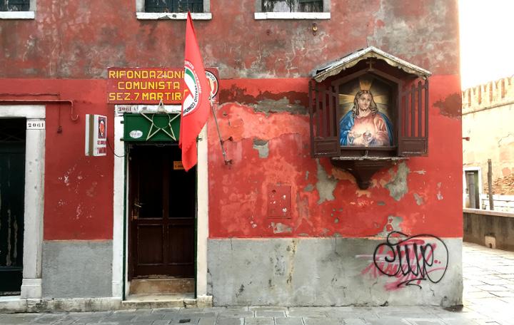 shrine communist party Venice