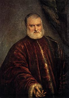 Tintoretto, Portrait of Procurator Antonio Cappello, Accademia Galleries, Wikimedia