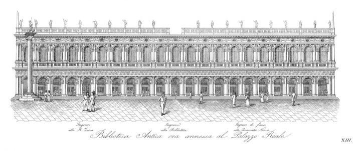 Venice, Marciana Library, 1831
