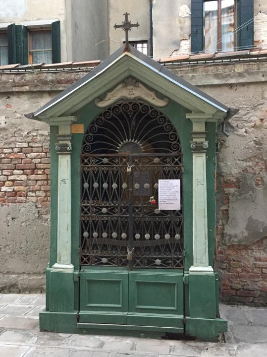 shrine Cannaregio Venice