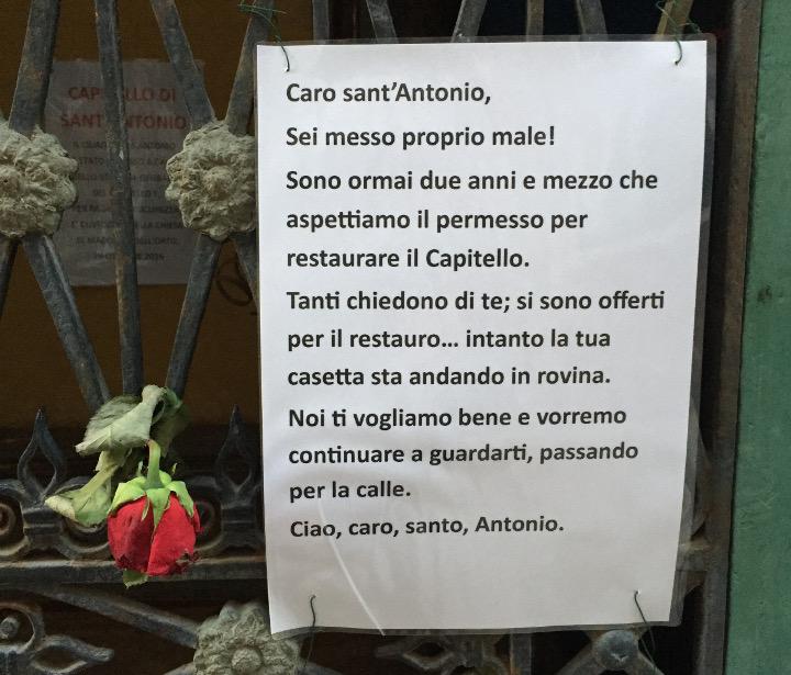protest residents Cannaregio Venice