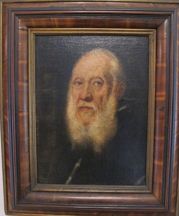 Tintoretto, Portrait of Jacopo Sansovino, Florence, Gallerie degli Uffizi, Wikimedia