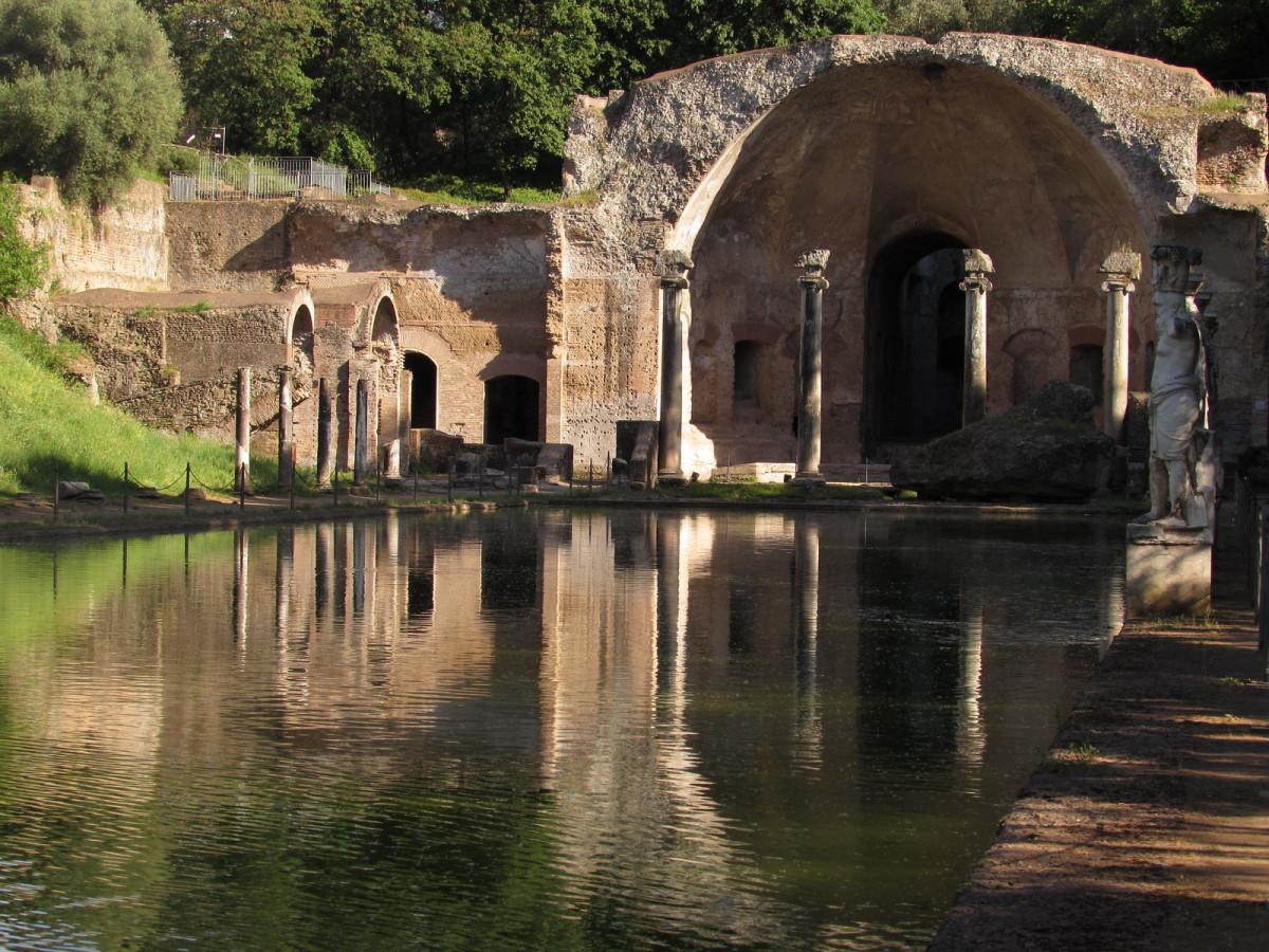 Tivoli, Villa Adriana, détail, photo de Wikimedia