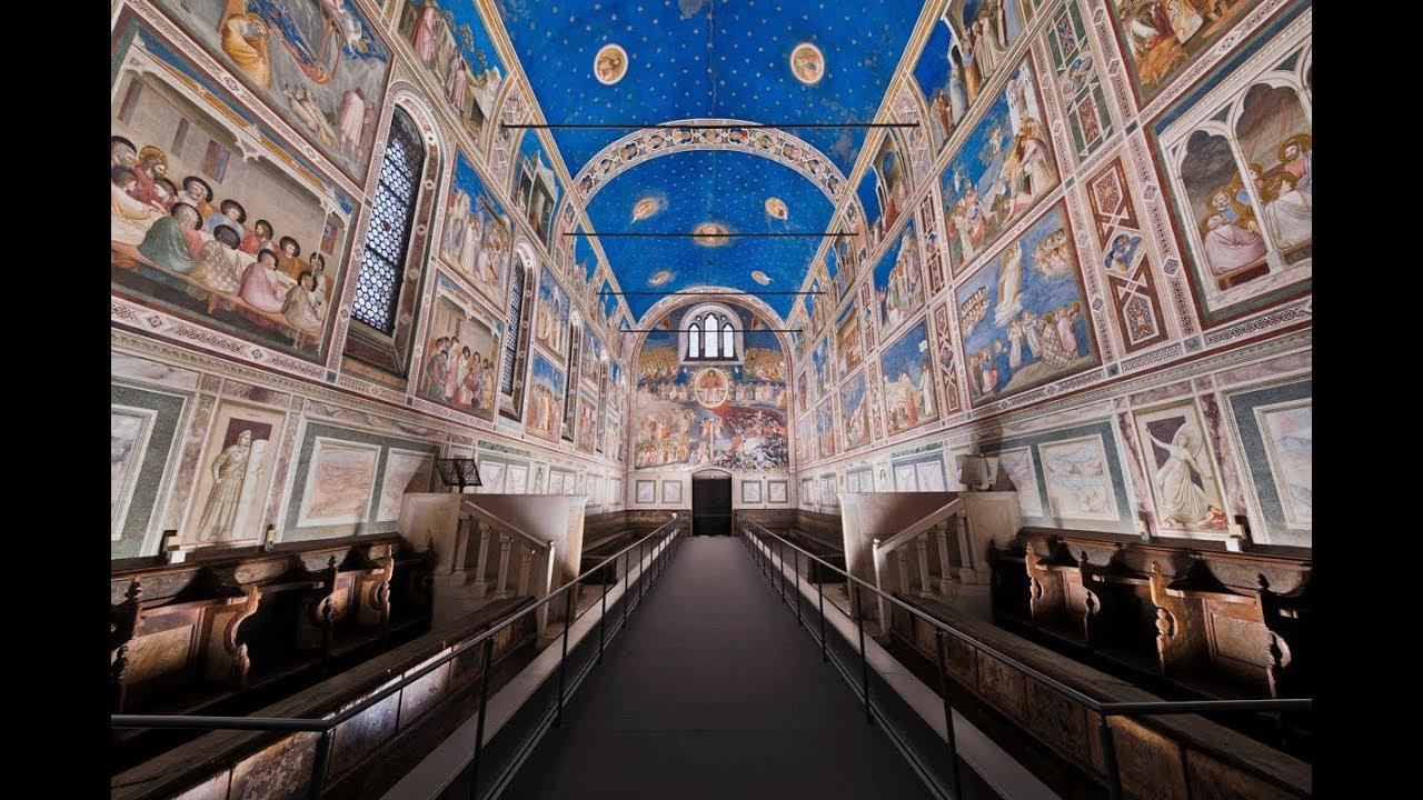 Padoue, Chapelle des Scrovegni, photo de Wikimedia, Maxresdefault