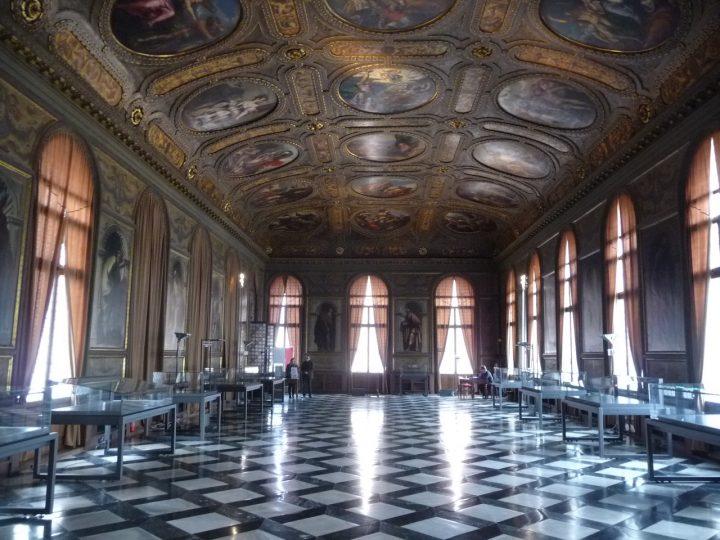 Venice, Marciana Library, Sala della Biblioteca